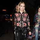 Emma Roberts at Eric Buterbaugh Gallery in Los Angeles 1/6/ 2017 - 454 x 719