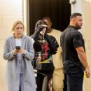 Kylie Jenner – Wearing a Juice Wrld Sweatsuit – Shopping in Calabasas