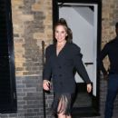 Melanie Chisholm – Arrives at Chiltern Firehouse in London - 454 x 681