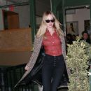 Jennifer Lawrence and Cooke Maroney – Leaving King Italian restaurant in New York City