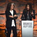Aerosmith attends The Songwriters Hall Of Fame 44th annual Induction at the NY Marriott Marquis on June 13, 2013 - 454 x 303