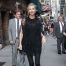 Charlize Theron – Arrives at 'The Late Show with Stephen Colbert' in NY