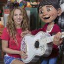 Shakira Visits Disney California Adventure - 400 x 600