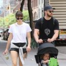 Jessica Biel and Justin Timberlake go for a walk in Tribeca - 454 x 681