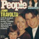 John Travolta and Kelly Preston - 413 x 529