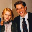 Claire Danes and Matt Damon