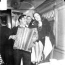 Lupe Velez with William H. Randolph of United Artists Theatre (Circa 1929) - 393 x 480