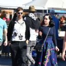Dita von Teese and boyfriend Adam Rajcevich – Shopping in Los Angeles - 454 x 595