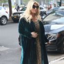 Jessica Simpson – Returns to The Greenwich Hotel in New York - 454 x 650