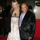Quincy Jones and Kimberley Conrad