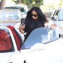 Blac Chyna at a Hair Salon in Beverly Hills, California - August 17, 2017 - 454 x 579