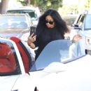 Blac Chyna at a Hair Salon in Beverly Hills, California - August 17, 2017