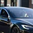 Michelle Pfeiffer – Spotted driving her Tesla