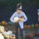 Cara Santana -Seen at Pumpkin Patch In Los Angeles - 454 x 594