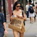 Frieda Pinto's NYC Retail Romp