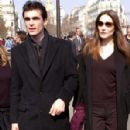 Carla Bruni and Raphael Enthoven