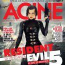 Milla Jovovich - Acine Magazine Cover [Colombia] (September 2012)