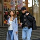 Maria Menounos in Long Coat – Out in Beverly Hills