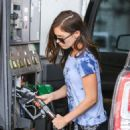 Megan Fox At A Gas Station In Beverly Hills