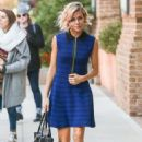 Sienna Miller In Mini Dress Out In New York City