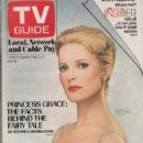 Grace Kelly - TV Guide Magazine Cover [United States] (February 1983)