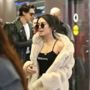 Vanessa Hudgens – Arriving at Miami International Airport