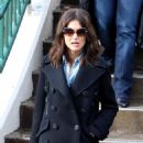 Katie Holmes - Leaving A Portrait Studio On Main Street In Park City, Utah, 27 January 2010