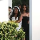 Selena Gomez – Spotted at her cousin's wedding in Los Angeles - 454 x 681