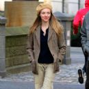 Amanda Seyfried – Filming the 1970s Thriller 'Things Heard and Seen' in NY - 454 x 746