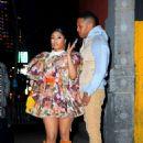 Nicki Minaj – Seen at the Marc Jacobs fashion show in New York City