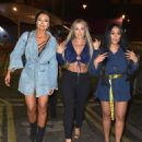 Sophie Kasaei, Holly Hagan and Abbie Holborn – Night out in Newcastle - 454 x 545