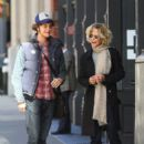 Meg Ryan and her son Jack Quaid out and about in New York City on October 04, 2015 - 405 x 600