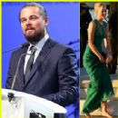 Leonardo DiCaprio Brings Girlfriend Toni Garrn to His Foundation Gala, Raises $25 Million to Protect the Earth!