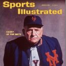 Casey Stengel - Sports Illustrated Magazine Cover [United States] (5 March 1962)