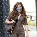 Rachel Shenton – Wearing protective mask at Sunday Brunch – London - 454 x 565