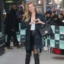Petra Němcová – Arrives at AOL build Show in New York City - 454 x 600