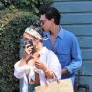 Vanessa Hudgens and Austin Butler – Leaving All Time Restaurant in Los Feliz