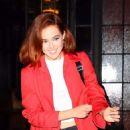 Zoey Deutch – Exits The Bowery Hotel in NY