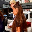 Ariana Grande and Pete Davidson – Heading to her concert in New York