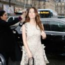 Ashley Benson – Arrives at the Stella Mccartney Show in Paris