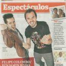 Benjamín Rojas, Felipe Colombo - Clarin Magazine Cover [Argentina] (3 May 2013)