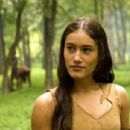 """Q'Orianka Kilcher as """"Pocahantas"""" in New Line Cinema's upcoming film, The New World. The epic adventure is set amid the encounter of European and Native American cultures during the founding of the Jamestown Settlement in 1607. Pho"""