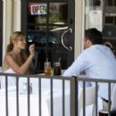 Lauren Conrad With Her Boyfriend Doug Reinhardt At A Restaurant In Beverly Hills, 2008-04-29