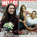 Kate Middleton, Rochelle Wiseman, Marvin Humes - Hello! Magazine Cover [United Kingdom] (27 February 2012)