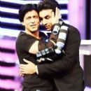 Shah Rukh Khan and Ranbir Kapoor Hosts and Crack Jokes at the Filmfare Award 2012