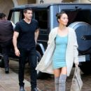 Cara Santana and Jesse Metcalfe enjoy lunch together at Sugar Fish in Beverly Hills, California on January 30, 2015