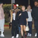 Kylie Jenner and Tyga spotted arriving at The Forum in Inglewood November 1, 2016