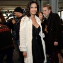 Padma Lakshmi J Mendel Fashion Show In New York