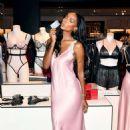 Jasmine Tookes – Victoria's Secret Celebrates New Fall Collection in Natick - 454 x 681