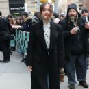 Olivia Cooke – Arriving at AOL Build Series in New York - 454 x 679